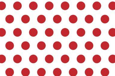 röda prickar på ollonet